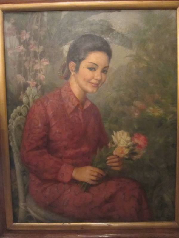 Fernando AMORSOLO - Painting - Lady In Red
