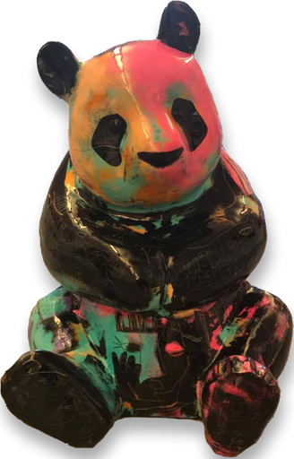 Julien MARINETTI - Sculpture-Volume - Panda