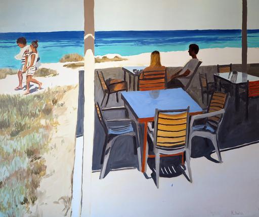 Karine BARTOLI - Painting - Formentera Salinas 05