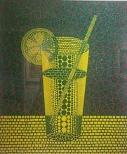 草間彌生 - 版画 - Lemon Squash(2)