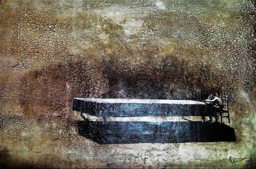 Agustin BEJARANO - Pintura - El Peso del Mundo