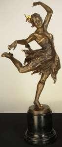 Bruno ZACH - Skulptur Volumen - Exotic Dancer