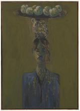 Elie ABRAHAMI - Gemälde - Woman with Plate