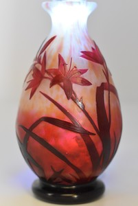 Antonin DAUM - Vase balustre