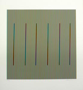 Carlos CRUZ-DIEZ - Grabado - Color el espacio