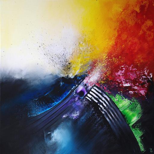 Estelle BARBET - Peinture - Conquête