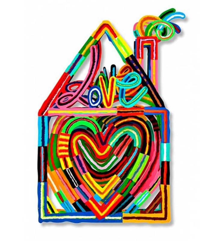 David GERSTEIN - Escultura - Home of Laugh