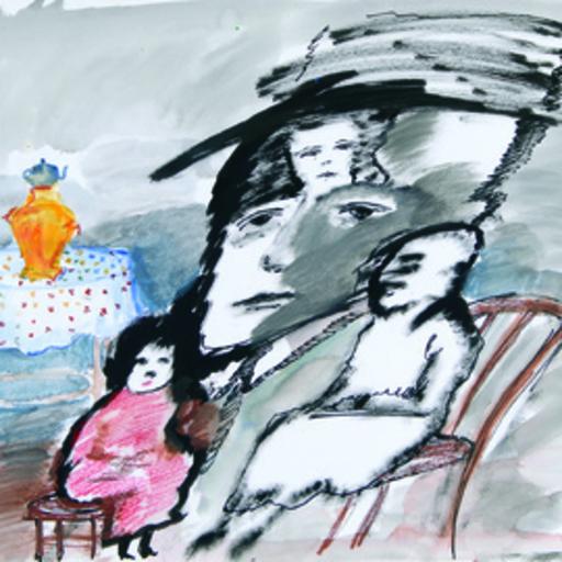 Zvi MILSHTEIN - Painting - Dans le salon