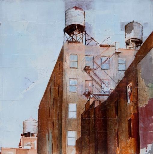Massimo LAGROTTERIA - Painting - Water Tank