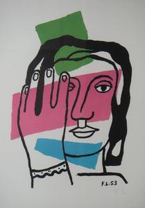 Fernand LÉGER, Tete de Femme