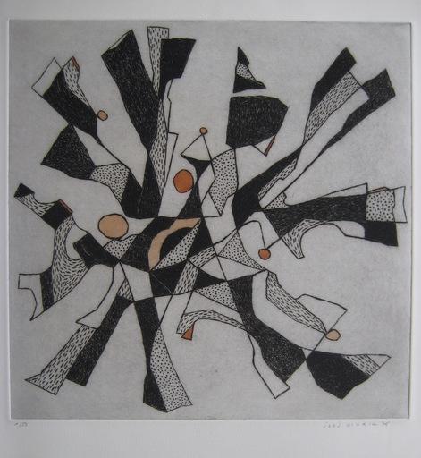 Jorj MORIN - Stampa Multiplo - GRAVURE 1976 SIGNÉE CRAYON NUM/50 HANDSIGNED NUMB ETCHING