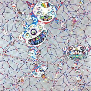 Takashi MURAKAMI - Grabado - Dob: myxomycete