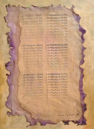 Bernard QUENTIN - Painting - Le passage du temps