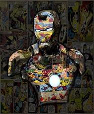 Hans DIRTY - Print-Multiple - Iron Man