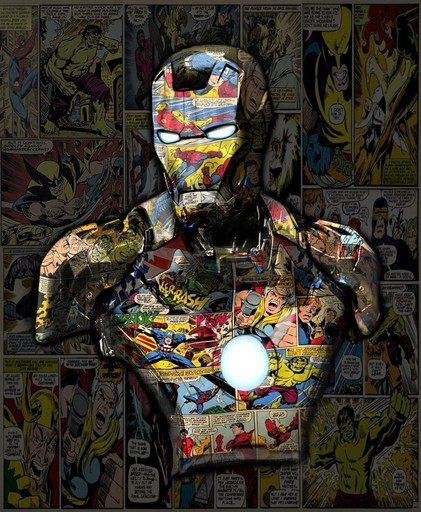 Hans DIRTY - Print-Multiple - Iron Man