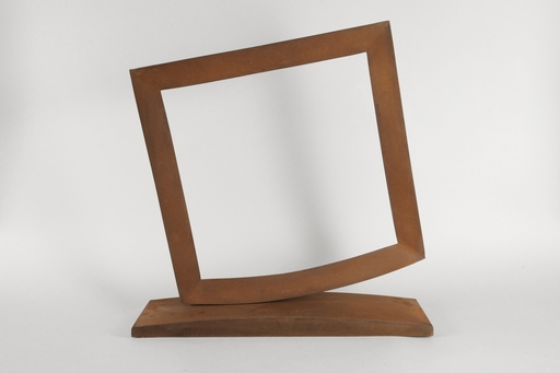 Mauro STACCIOLI - Sculpture-Volume - Equilibrio sospeso