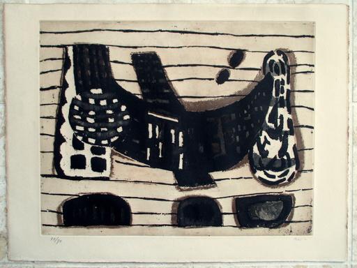 Zoran Antonio MUSIC - Grabado - Le Filets