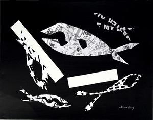 Bleue ROY - Disegno Acquarello - FISHES