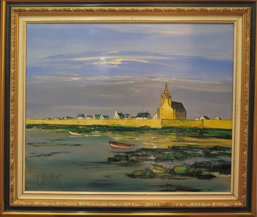Gérard GOUVRANT - Painting - Marine