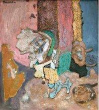 Xavier BUENO - Pintura - Sans titre, circa 1950