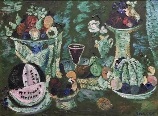 André LANSKOY - Painting - Le Compotier