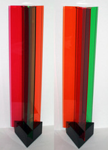 Carlos CRUZ-DIEZ - Escultura - Transchromie à 3 éléments