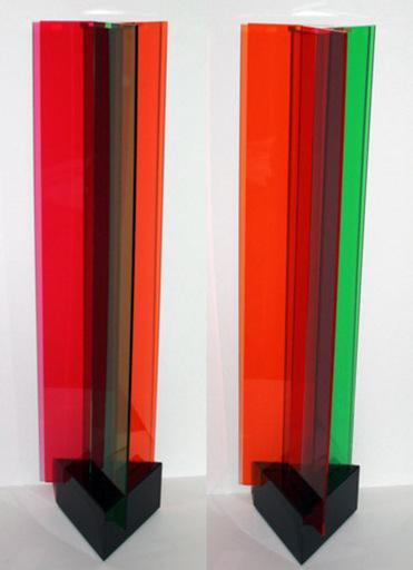 Carlos CRUZ-DIEZ - Sculpture-Volume - Transchromie à 3 éléments
