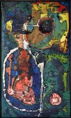 François ARNAL - Painting - Les Piranias