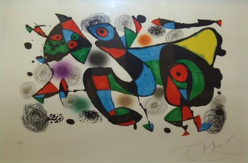 Joan MIRO - Stampa-Multiplo - Maravillas con variaciones acrósticas en el jardin de Miró