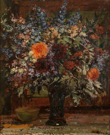 Jacques-Émile BLANCHE - Peinture - Bouquet de fleurs