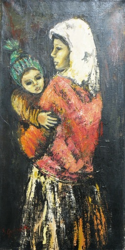 GREENFIELD - Painting - *Mother and Child