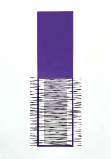 Jesús Rafael SOTO - Print-Multiple - Irritiertes Lila