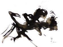 Jean-Jacques MARIE - Dessin-Aquarelle - Composition 344