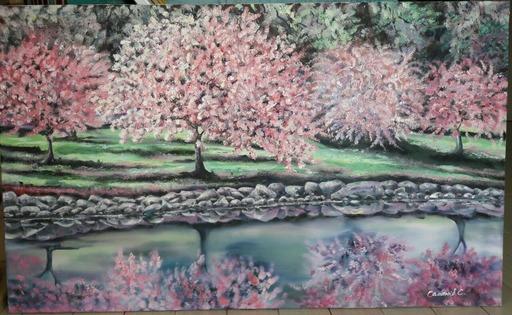 Svitlana SEMANIV - Gemälde - Spring mood