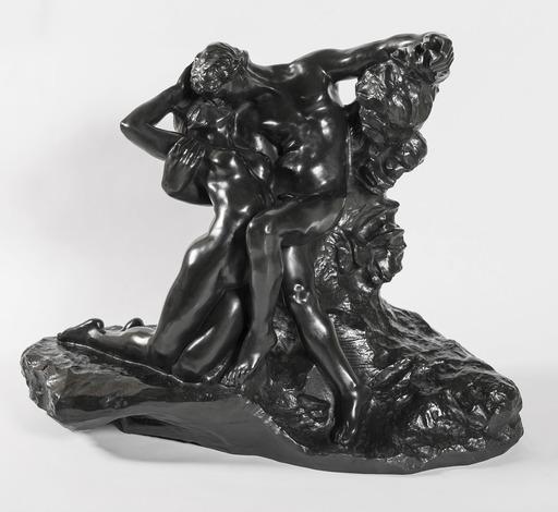 """Auguste RODIN - Scultura Volume - Eternel printemps, Second état, 1ère réduction dite aussi """"r"""