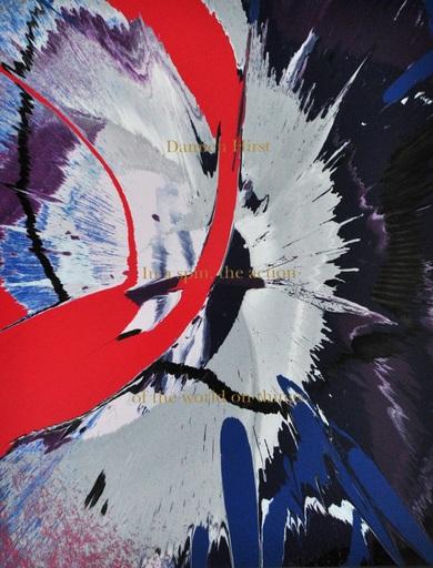 达米恩•赫斯特 - 绘画 - Spin painting (in a spin, the action of the world on things)