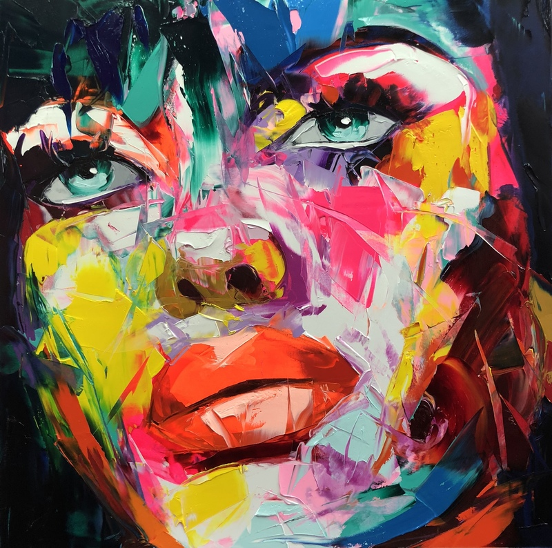 Françoise NIELLY - Painting - Nouria