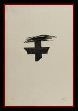 Antoni TAPIES - Print-Multiple - LLAMBREC MATERIAL