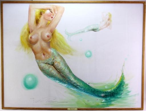 Earl MACPHERSON - Painting -  Mermaid