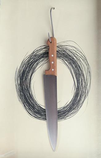 简尼思•库耐利斯 - 雕塑 - Knife
