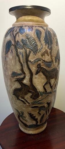 Léonard CRAME - Cerámica - Vase Unique de Léonard Crame