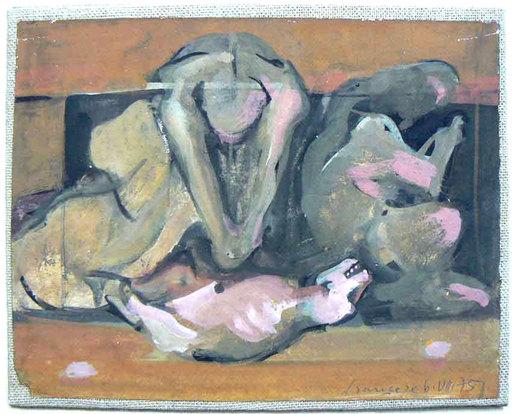 Franco FRANCESE - Gemälde - Quasi una allegoria