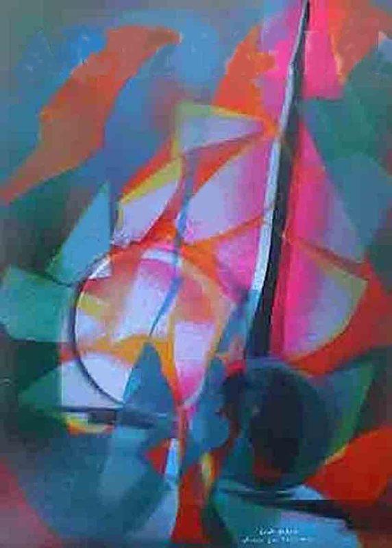 Paolo CONTI - Painting - Studio per trasparenze