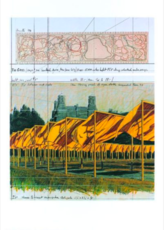 CHRISTO - Print-Multiple - The Gates (f)