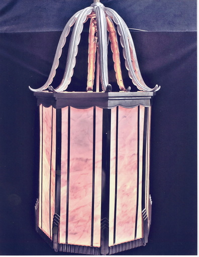 Albert CHEURET - Large Octagonal Lantern