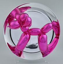 Jeff KOONS - Sculpture-Volume - Balloon Dog in magenta