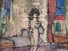 Christian DURIAUD - Pittura - Le modèle de Hopper