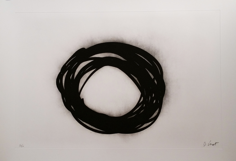 Bernar VENET - Estampe-Multiple - Grib II (from the Grib series)