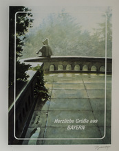 Eric BULATOV - Print-Multiple - Greetings from Bavaria