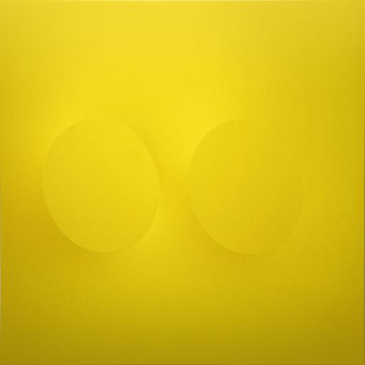 Turi SIMETI - Gemälde - 2 ovali gialli